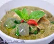 groene curry met tofu