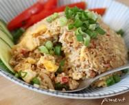 Thaise gebakken rijst (Khao pad)